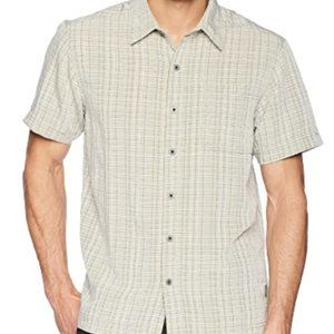 Reyes Plaid Short Sleeve Shirt White Sierra Pt